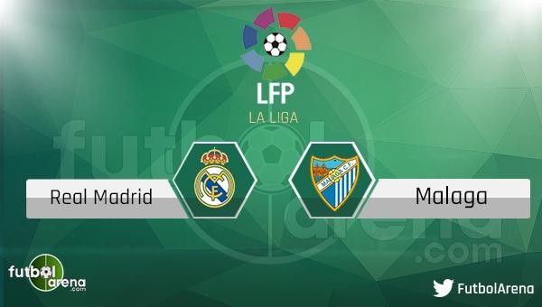 Real Madrid - Malaga maçı saat kaçta, hangi kanalda?