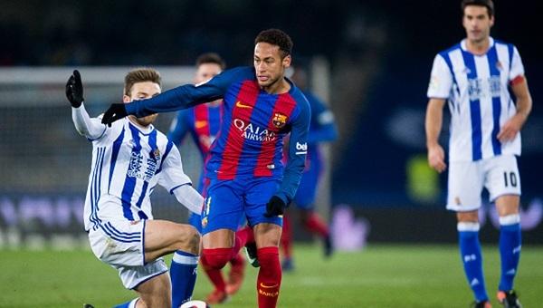 Real Sociedad 0 - 1 Barcelona maçı özeti ve golü
