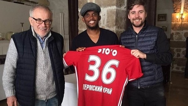 Samuel Eto'o'yu Rusya'ya transfer ettiler
