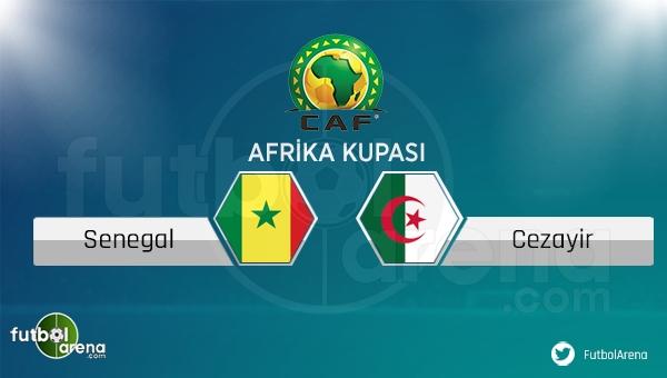 Senegal - Cezayir maçı saat kaçta, hangi kanalda?