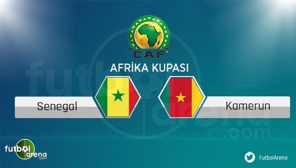 Senegal - Kamerun maçı saat kaçta, hangi kanalda?