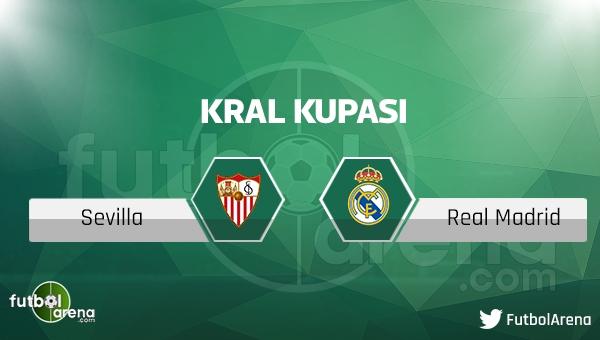Sevilla - Real Madrid maçı saat kaçta, hangi kanalda?