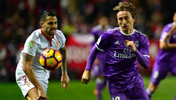 Sevilla, Real Madrid'i son dakikada devirdi: 2-1