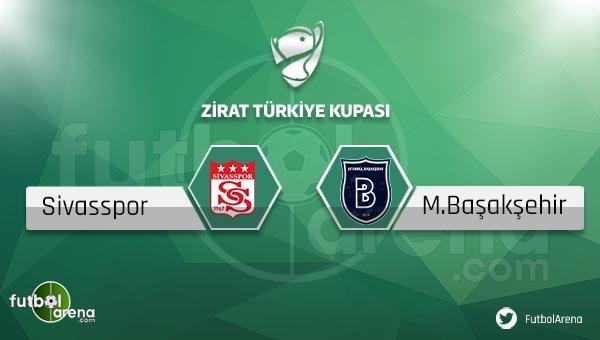 Sivasspor - Medipol Başakşehir maçı saat kaçta, hangi kanalda?