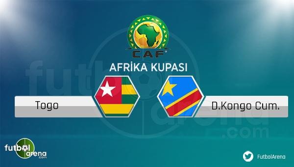 Togo - Kongo maçı saat kaçta, hangi kanalda?