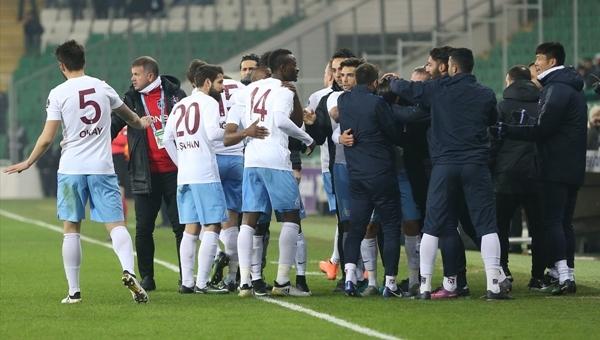 Trabzonspor 1 yıl sonra ilki başardı