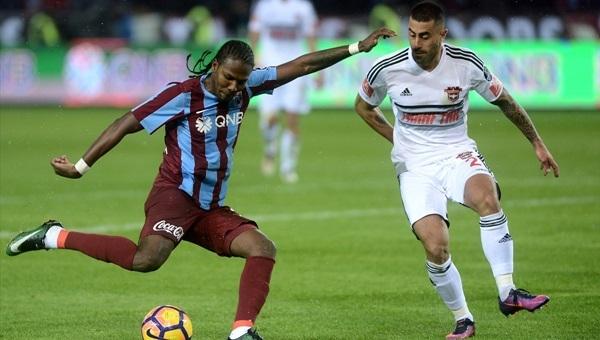 Trabzonspor 4 - 0 Gaziantepspor maçı özeti ve golleri