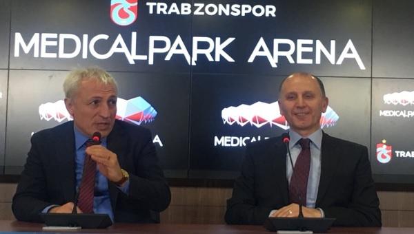 Trabzonspor'un yeni stadının ismi resmen açıklandı