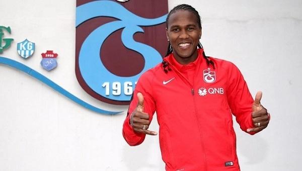Trabzonspor'un yeni transferi Rodallega'nın heyecanı