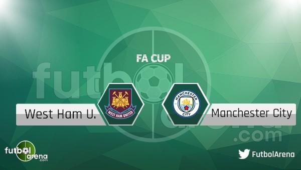 West Ham United - Manchester City maçı saat kaçta, hangi kanalda?
