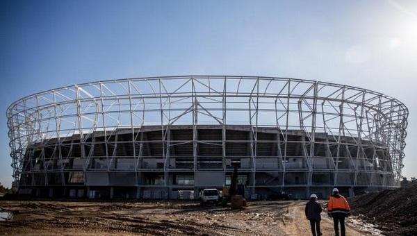Yeni Adana Stadı tamamlanıyor