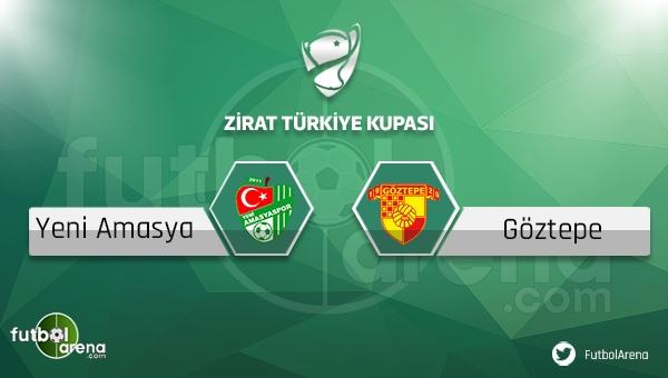 Yeni Amasyaspor - Göztepe maçı saat kaçta, hangi kanalda?