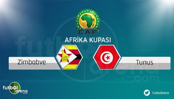 Zimbabve - Tunus maçı saat kaçta, hangi kanalda?
