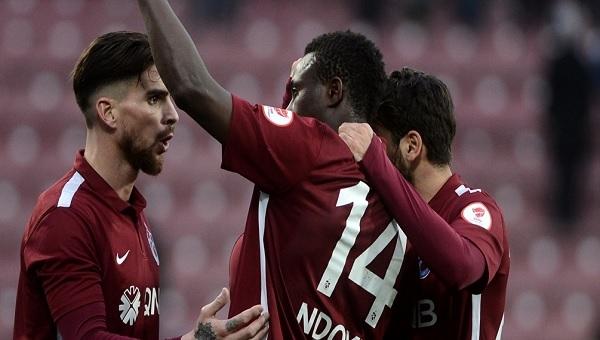 Ziraat Türkiye Kupası Trabzonspor - Atiker Konyaspor maçı Olcay Şahan'ın N'Doye'un golünde asisti