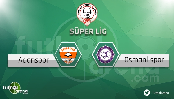 Adanaspor - Osmanlıspor maçı saat kaçta, hangi kanalda? (Adana Osmanlı maçı ne zaman?)