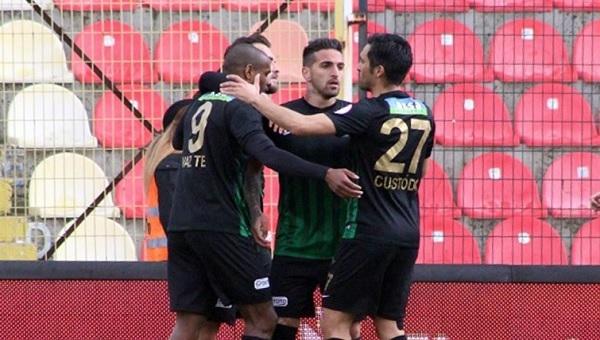 Akhisar Belediyespor 3-1 Gümüşhanespor maç özeti ve golleri