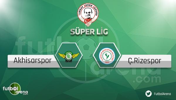 Akhisar Belediyespor - Çaykur Rizespor maçı ne zaman, saat kaçta? (Akhisar Rize maçı)