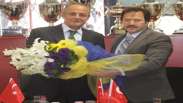 Ankaragücü yönetiminden Gençlerbirliği'ne tebrik ziyareti - Gençlerbirliği Haberleri