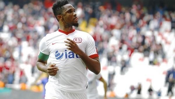 Antalyaspor'da Samuel Eto'o fırtınası