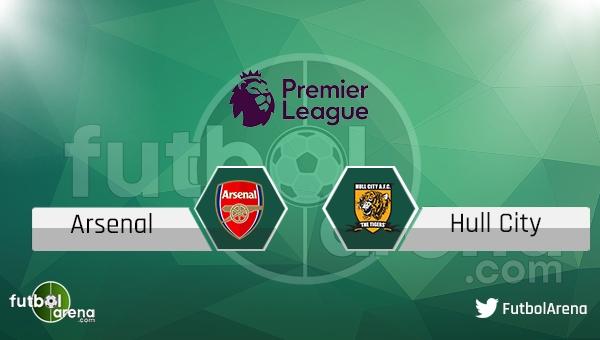 Arsenal - Hull City maçı saat kaçta, hangi kanalda?