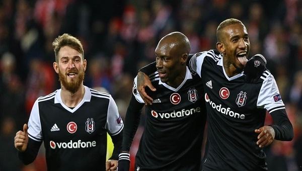 Atiba Hutchinson, Beşiktaş'ta ilk Avrupa Kupası golünü attı