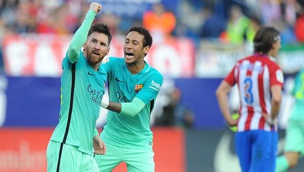 Atletico Madrid 1 - 2 Barcelona maçı özeti ve golleri