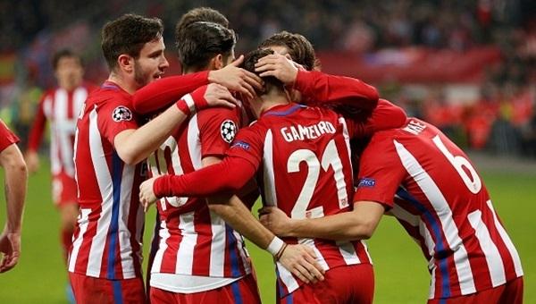 Atletico Madrid tur kapısını araladı: 2-4
