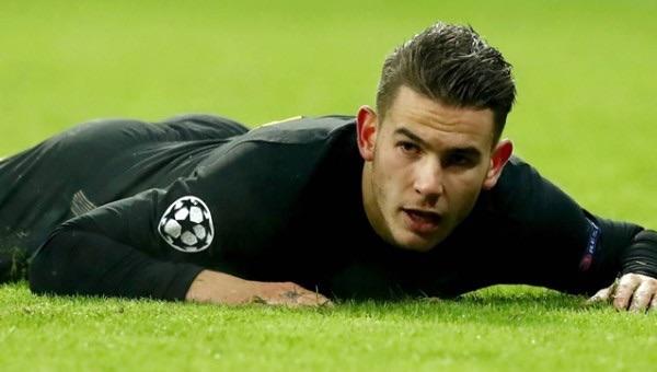 Atletico Madridli Lucas Hernandez serbest bırakıldı