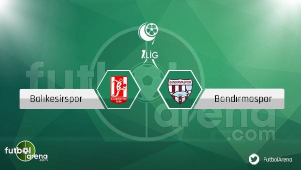 Balıkesirspor - Bandırmaspor maçı ne zaman, saat kaçta? (Balıkesir Bandırma canlı izle)