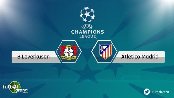 Bayer Leverkusen - Atletico Madrid saat kaçta, hangi kanalda? (Leverkusen Atletico Madrid canlı şifresiz izle)