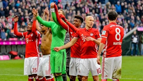 Bayern Münih 8 - 0 Hamburg maç özeti ve golleri