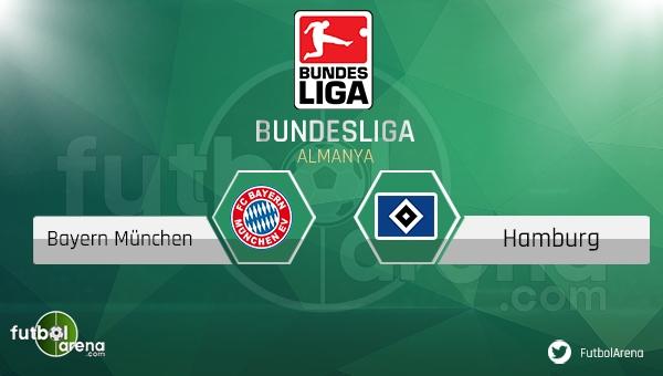 Bayern Münih - Hamburg maçı saat kaçta, hangi kanalda?