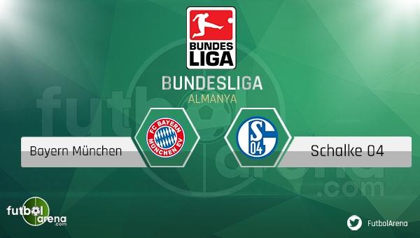 Bayern Münih - Schalke 04 maçı saat kaçta, hangi kanalda?