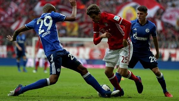 Bayern Münih - Schalke'ye takıldı: 1-1