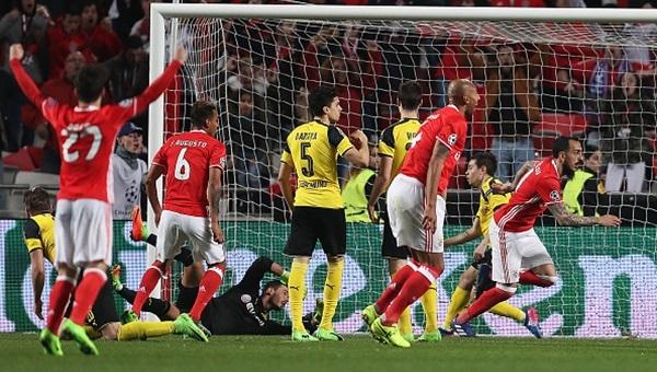 Benfica avantajı kaptı: 1-0