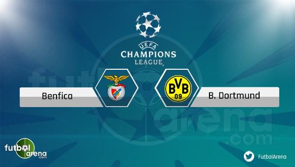 Benfica - Borussia Dortmund maçı saat kaçta, hangi kanalda? (Benfica Dortmund şifresiz mi?)