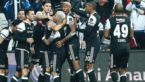 Beşiktaş, Süper Lig'in zirvesine el koydu