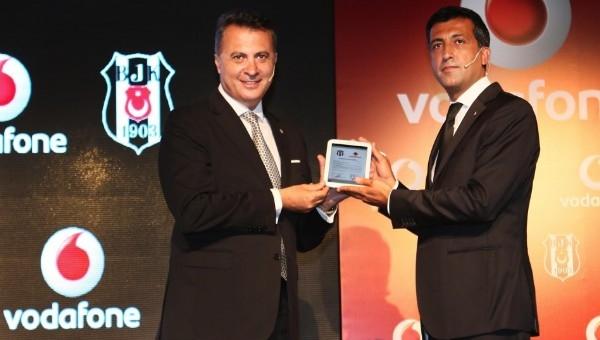 Beşiktaş, Vodafone ile sponsorluğu yeniledi