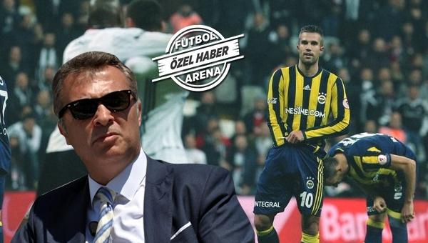 Beşiktaş, Van Persie'ye dil çıkarma ve provakatif hareketlerden ötürü dava açıyor