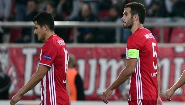 Beşiktaş'ın rakibi Olympiakos ligde Panionios'a mağlup oldu