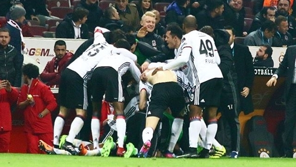 Beşiktaş'tan Galatasaray karşısında 6 yıl sonra bir ilk