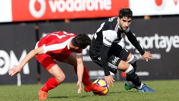 Beşiktaş'tan hazırlık maçında net galibiyet! Aboubakar'dan duble...