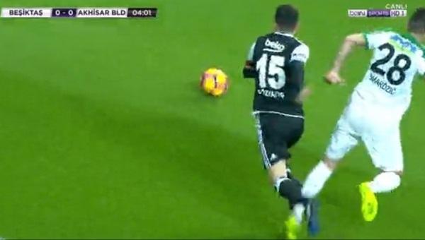Beşiktaş'tan penaltı itirazı