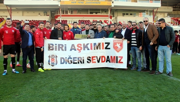 Beşiktaş'tan Samsunspor'a destek