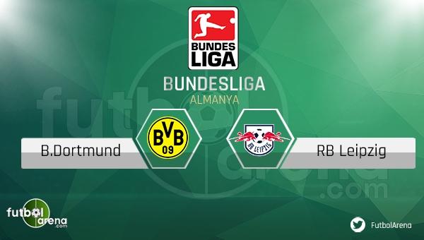 Borussia Dortmund - RB Leipzig maçı saat kaçta, hangi kanalda?