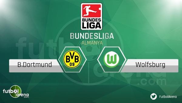 Borussia Dortmund - Wolfsburg maçı saat kaçta, hangi kanalda?