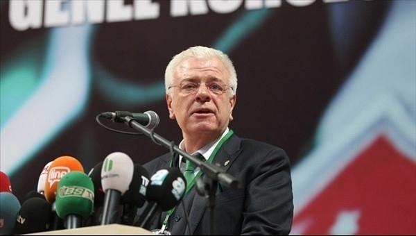 Bursaspor Başkanı Ali Ay'dan hakeme tepki