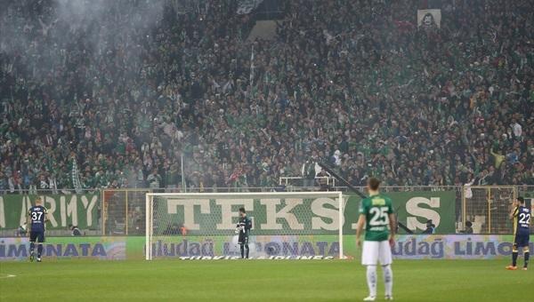 Bursaspor, Fenerbahçe maçında rekor kırdı
