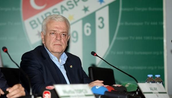 Bursaspor'dan Igor Tudor açıklaması