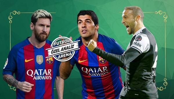 Cenk Tosun, Messi ve Suarez'le yarışıyor